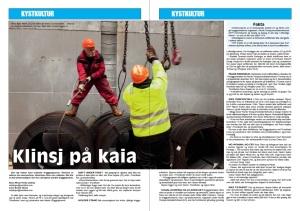 Klinsj på kaia, Maritimt mag. s.1-2