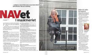 Portrett Wigum, Fagbladet s.1-2