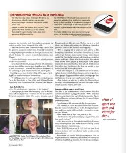 Portrett Wigum, Fagbladet s.3