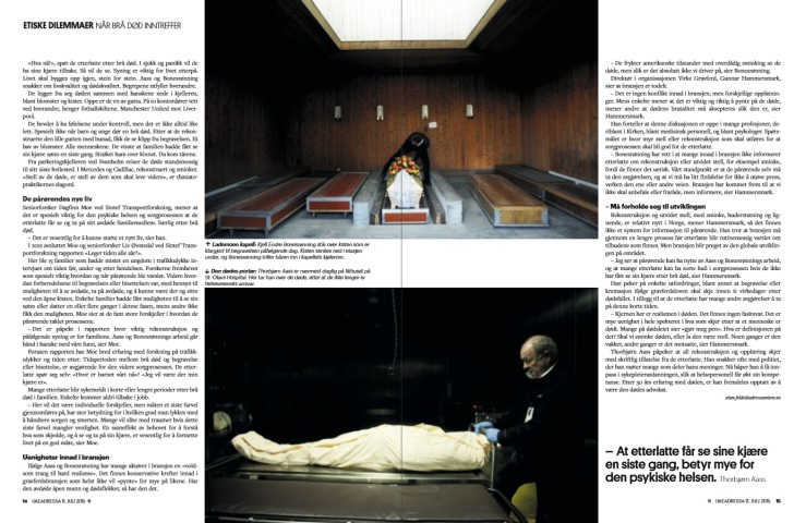 LEver for de døde, s.7-8